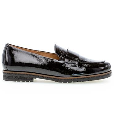 Gabor Elder Loafer 72.432 Shoe-BLACK PATENT