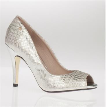 - Kate Appleby Everglade Peep Toe Shoe - Silver