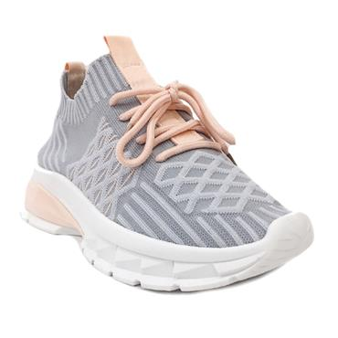 Drilleys Fly Casual Shoe-Grey