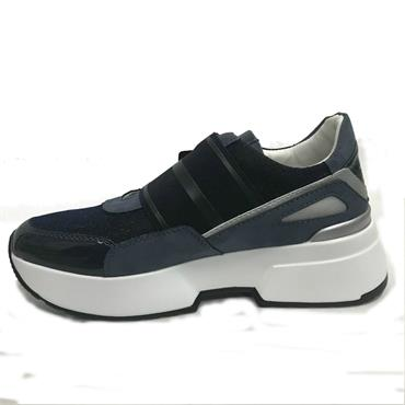 Tommy Bowe Casual Slip On Shoe-Navy