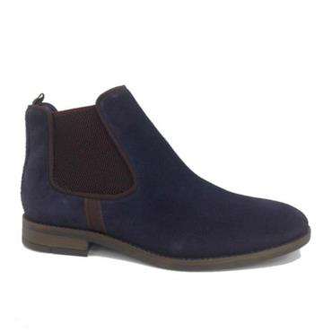 FRANZ SUEDE BOOT POPE - BLUE