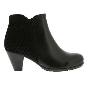 Freesia Gabor Boot 75.641.27 Blk Suede-BLACK