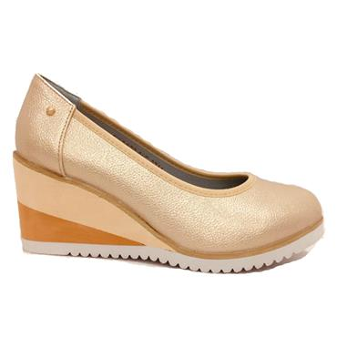 ZANNI FULFORD WEDGE SHOE-NUDE