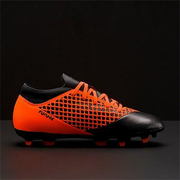 PUMA FUTURE 2.4 FG AG FOOTBALL BOOTS-BLACK