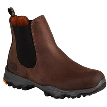 NO RISK GALAXY SOFT TOE BOOTS-BROWN