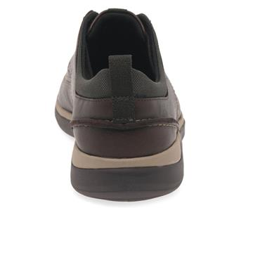 - Clarks Garratt Street - Mahogany Leather
