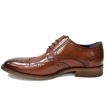 Escape Gatti Formal Shoe-Brandy