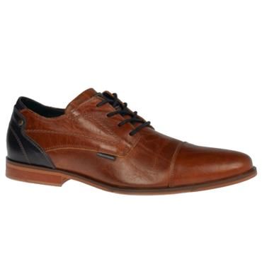 Gisborne Pope Shoe-COGNAC