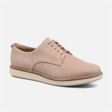 Clarks Glick Darby Shoe-TAUPE