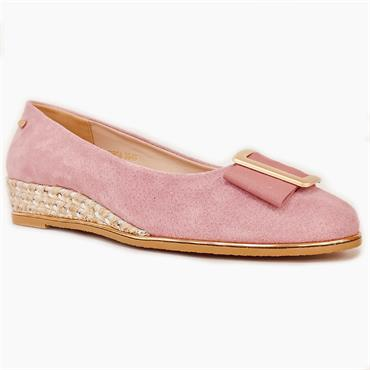 Kate Appleby Gorda Wedge Shoe-Pink