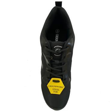 Groundwork GR95 Safety Shoe-BLACK