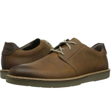 - Clarks Grandin Plain - Dark Tan Lea