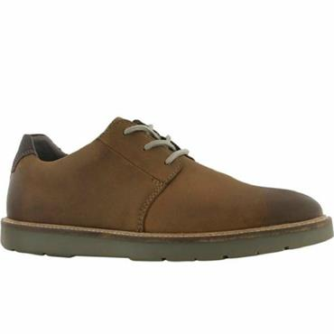 Clarks Grandin Plain-Dark Tan Lea