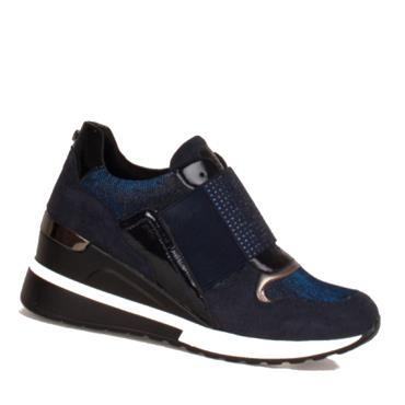 TOMMY BOWE GREHAN CASUAL SHOE-Navy