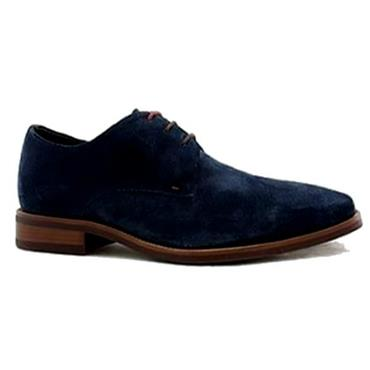 HARI SUEDE SHOE POPE-Navy
