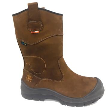 No Risk Hawick Rigger Safety Boot-BROWN