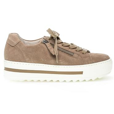 Gabor Heather Casual Shoe-TAUPE