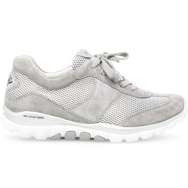 Gabor Helen Lace Shoe-Silver