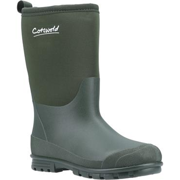 Cotswold Childrens Hilly Wellie-GREEN