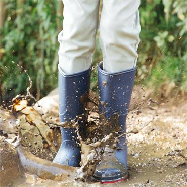 Cotswold Childrens Hilly Wellie-Navy