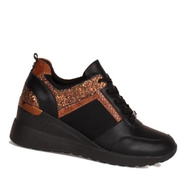 TOMMY BOWE HOHEPA CASUAL SHOES-BLACK