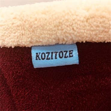 Ladies Kozitoze Holly Slipper-BURGUNDY