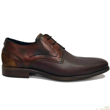Brent Pope Horeke Dress Shoe-MAHOGANY