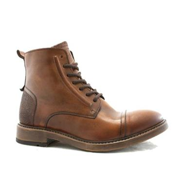 HUNTLY POPE BOOT - COGNAC