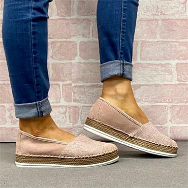 Softmode Jasmine Casual Shoe-Pink