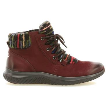 GABOR JUSTINA LACE BOOT-RED