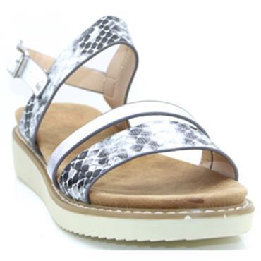 Zanni Kabnak Sandal-White