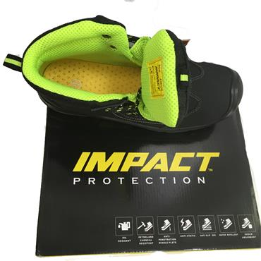 IMPACT SAFETY KANSAS WORK BOOT-BLACK