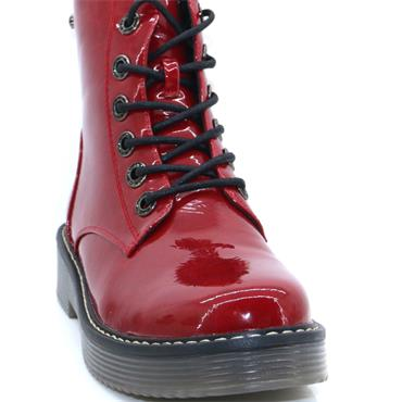REDZ KEEL ANKLE BOOT-RED