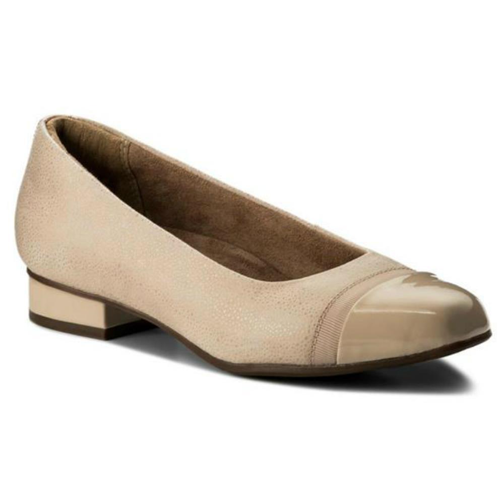 Ladies Clarks Smart Slip On Ballerina Style Pumps Keesha Rosa