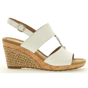 GABOR KEIRA WEDGE SANDAL 22.827.54-White