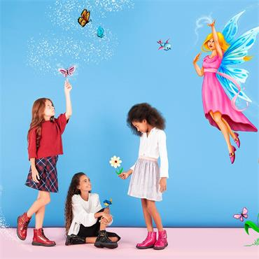 LELI KELLY LK5544 GIRLS BOOT-Red Patent