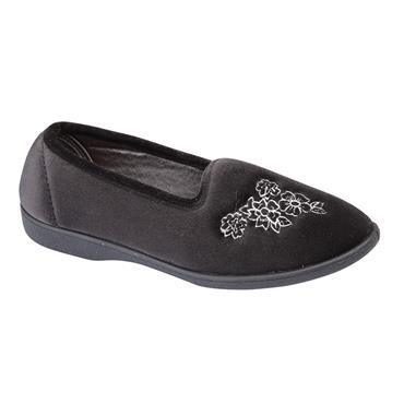 Ladies LS353A Slipper-BLACK