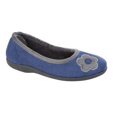 LADIES LS822C SLIPPER-BLUE