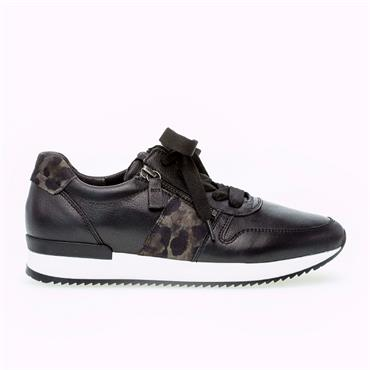 LULEA GABOR TRAINER-BLACK