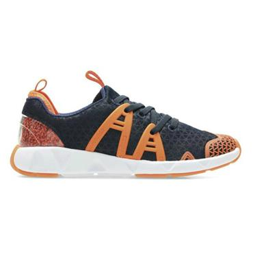 CLARKS LUMINOUSRUNINF TRAINER-NAVY