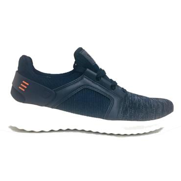 CROSSHATCH TRAINERS - NAVY