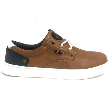 Tommy Bowe Boys Casual Shoes-CAMEL