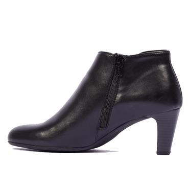 Gabor Mezza 55.851 Leather Ankle Boot-BLACK