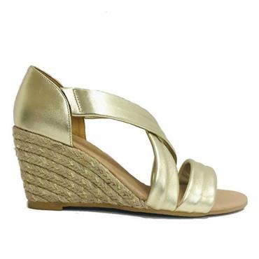 Kate Appleby Millbank Wedge Sandal-GOLD