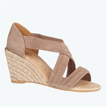 Kate Appleby Millbank Wedge Sandal-TAUPE