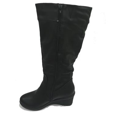 MOSCOW LONG BOOT-BLACK