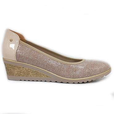Zanni Nabata Wedge Shoe-Shell