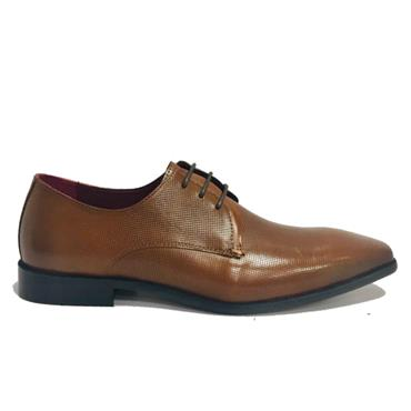 ESCAPE NEEDLE GUN FORMAL SHOE-Brandy