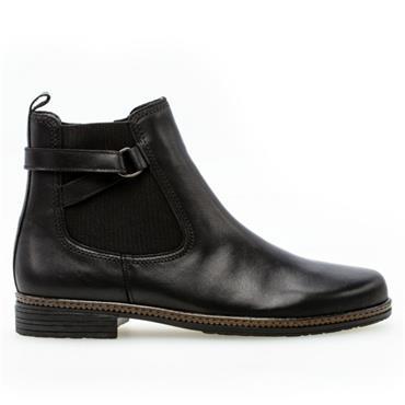Gabor Nolene Flat Boot-BLACK