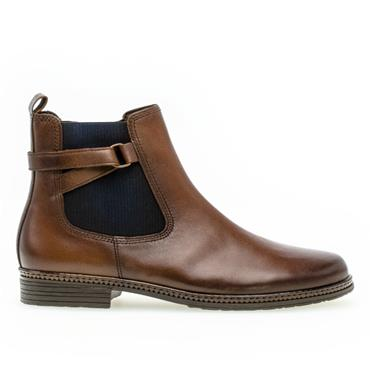 Gabor Nolene Flat Boot-BROWN